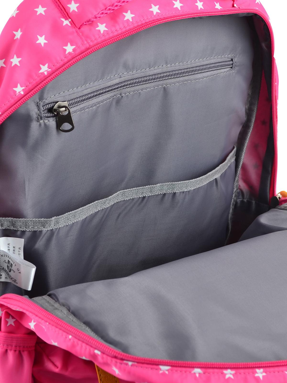 Рюкзак рожевий в горошок | 4214874 | фото 5