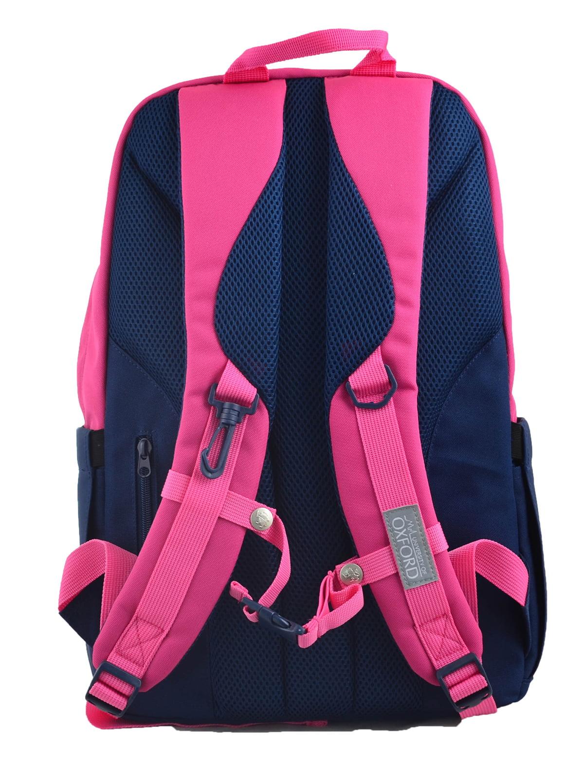 Рюкзак синьо-рожевий | 4214891 | фото 4