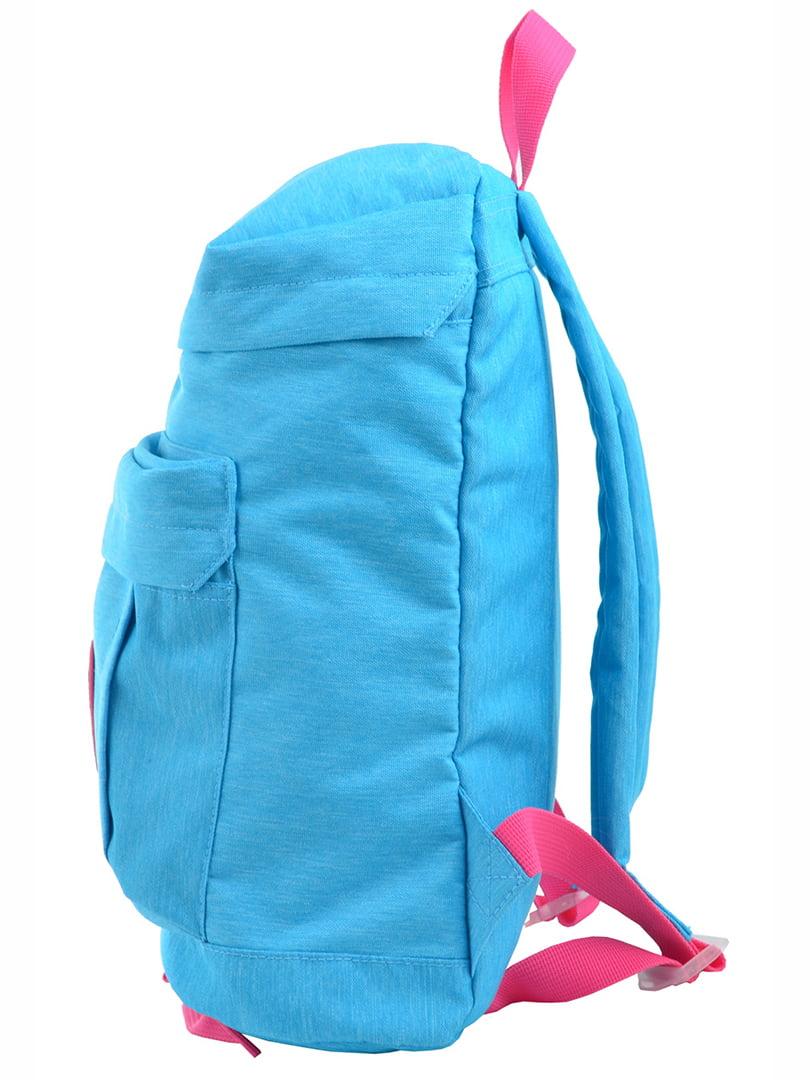 Рюкзак блакитний | 4214920 | фото 3