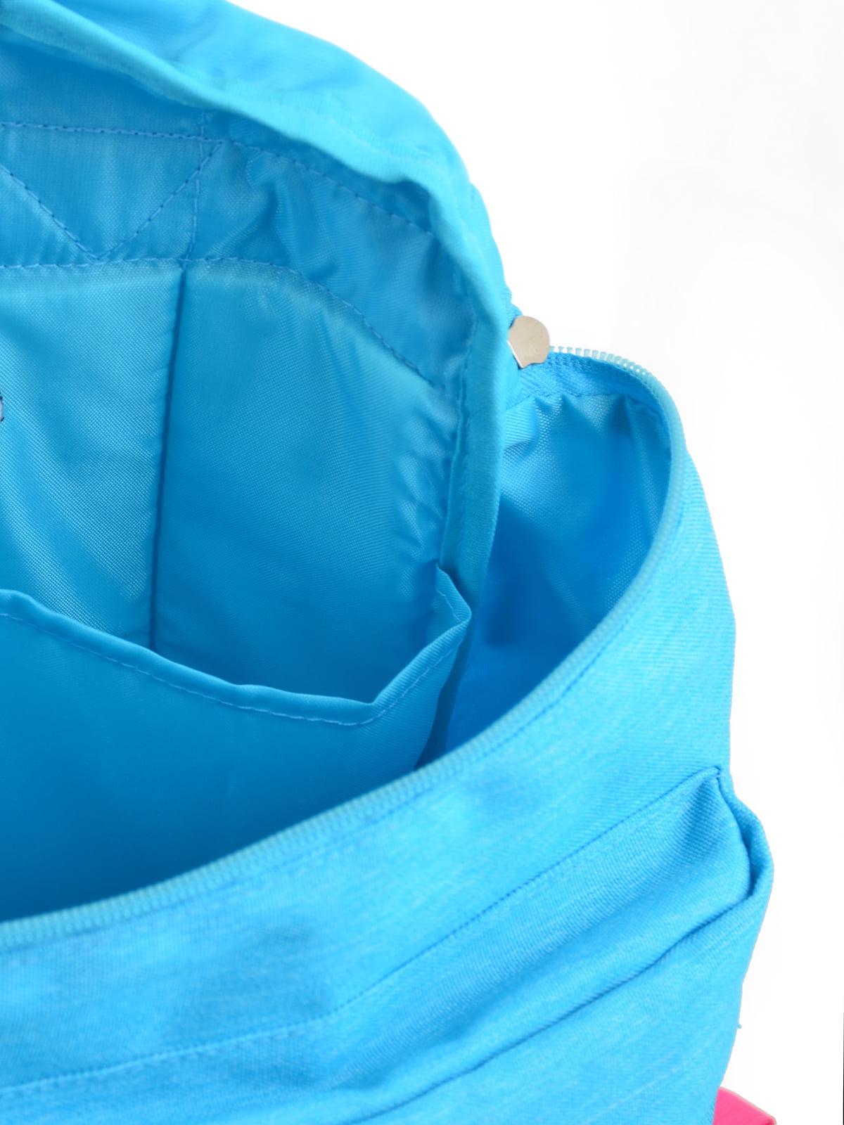 Рюкзак блакитний | 4214920 | фото 5
