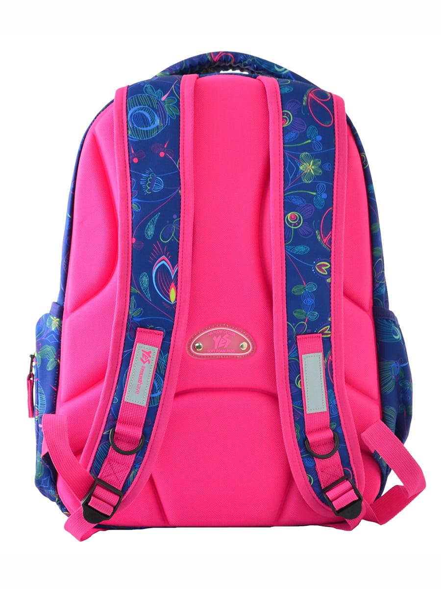 Рюкзак синій в принт | 4214924 | фото 4