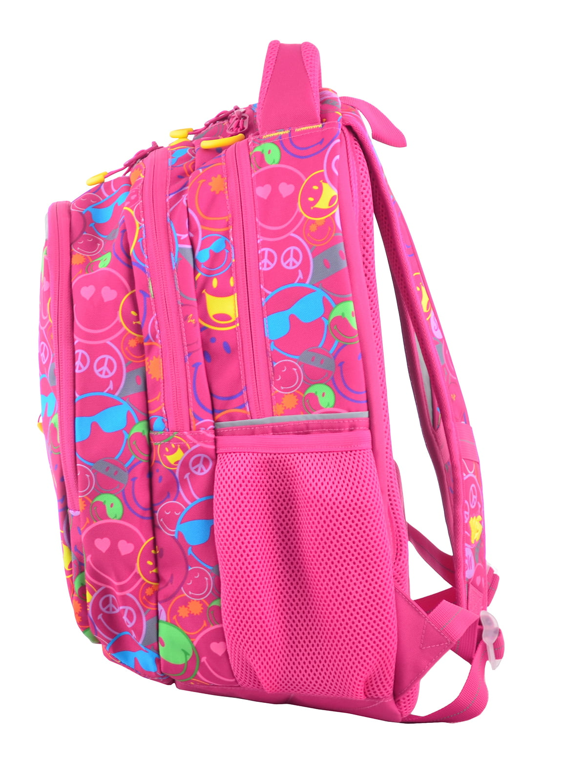 Рюкзак рожевий в принт | 4214930 | фото 3