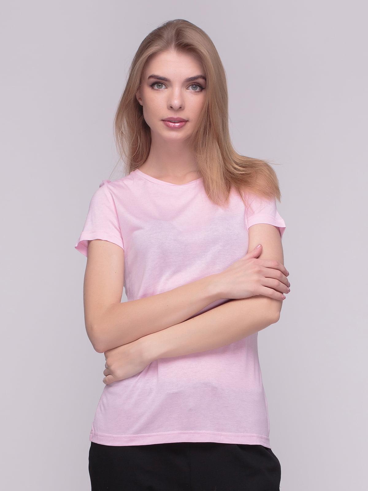 Футболка рожева | 4210237