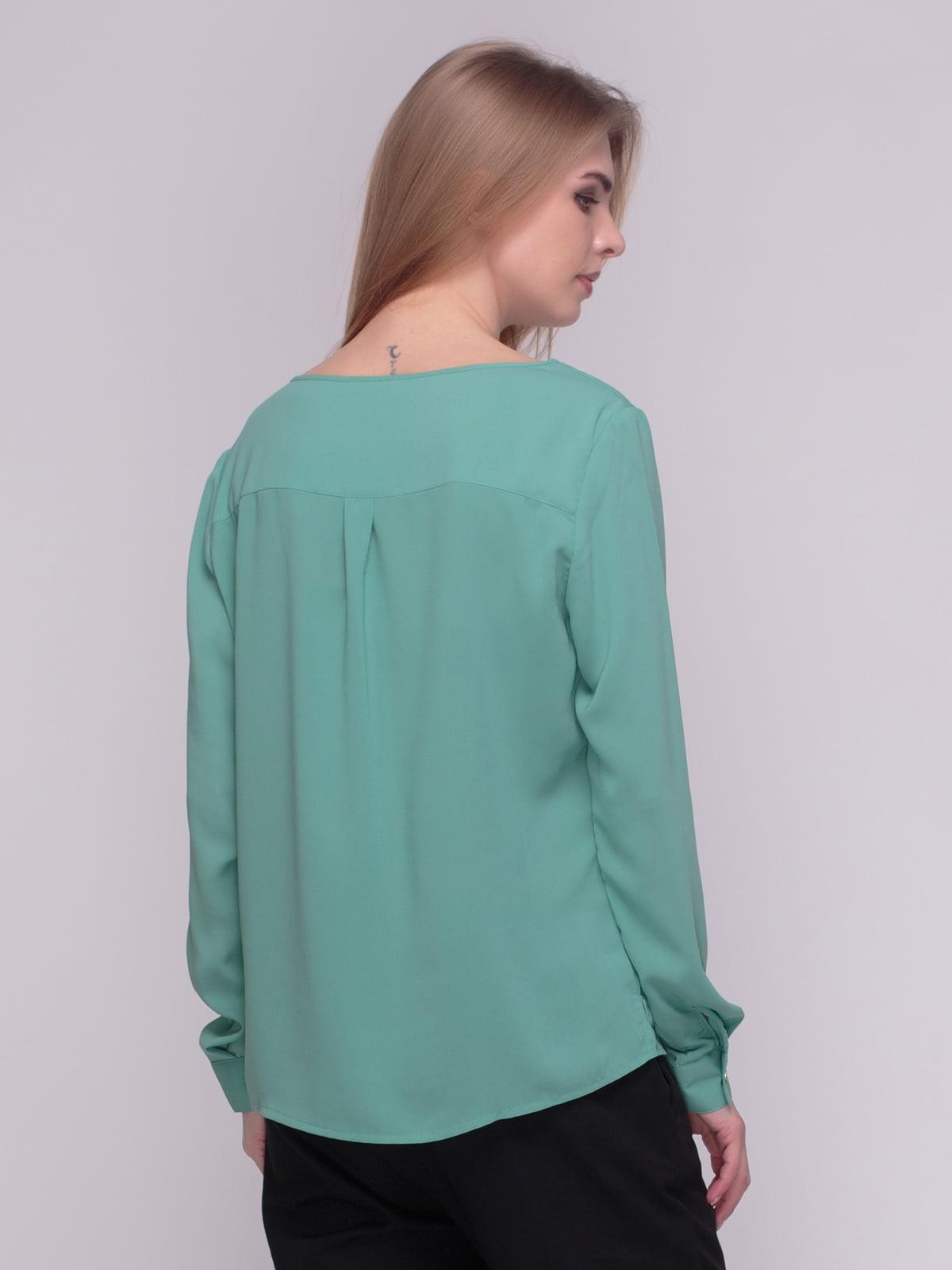 Блуза мятного цвета | 4210299 | фото 2