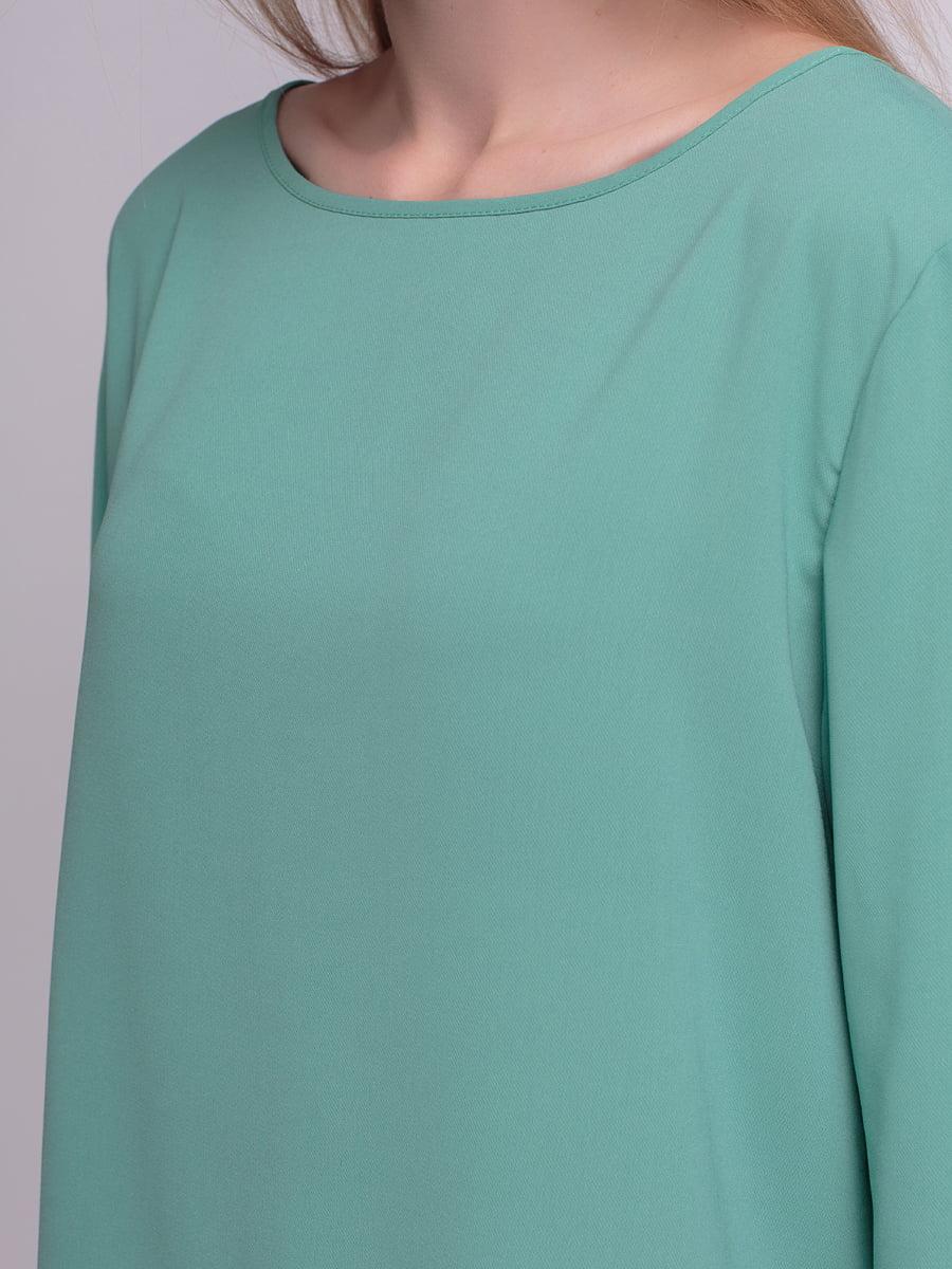Блуза мятного цвета | 4210299 | фото 3