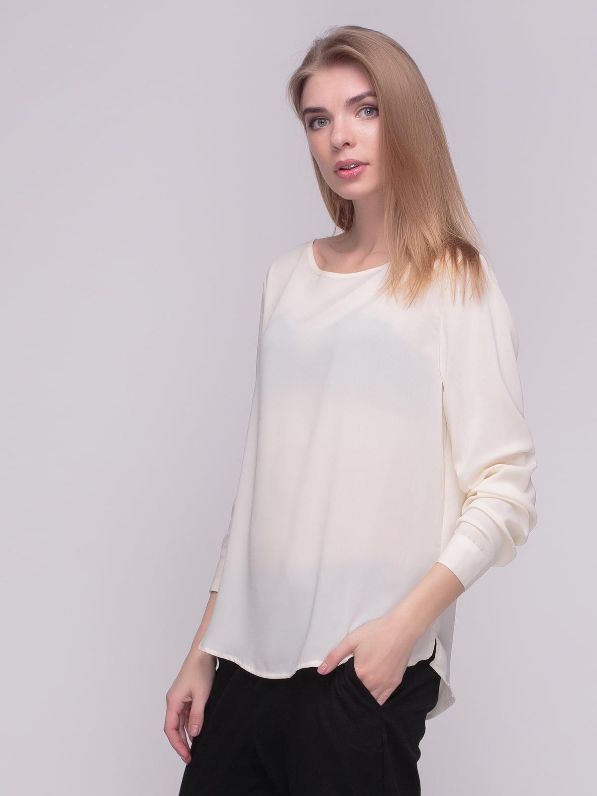 Блуза молочного цвета | 4210300