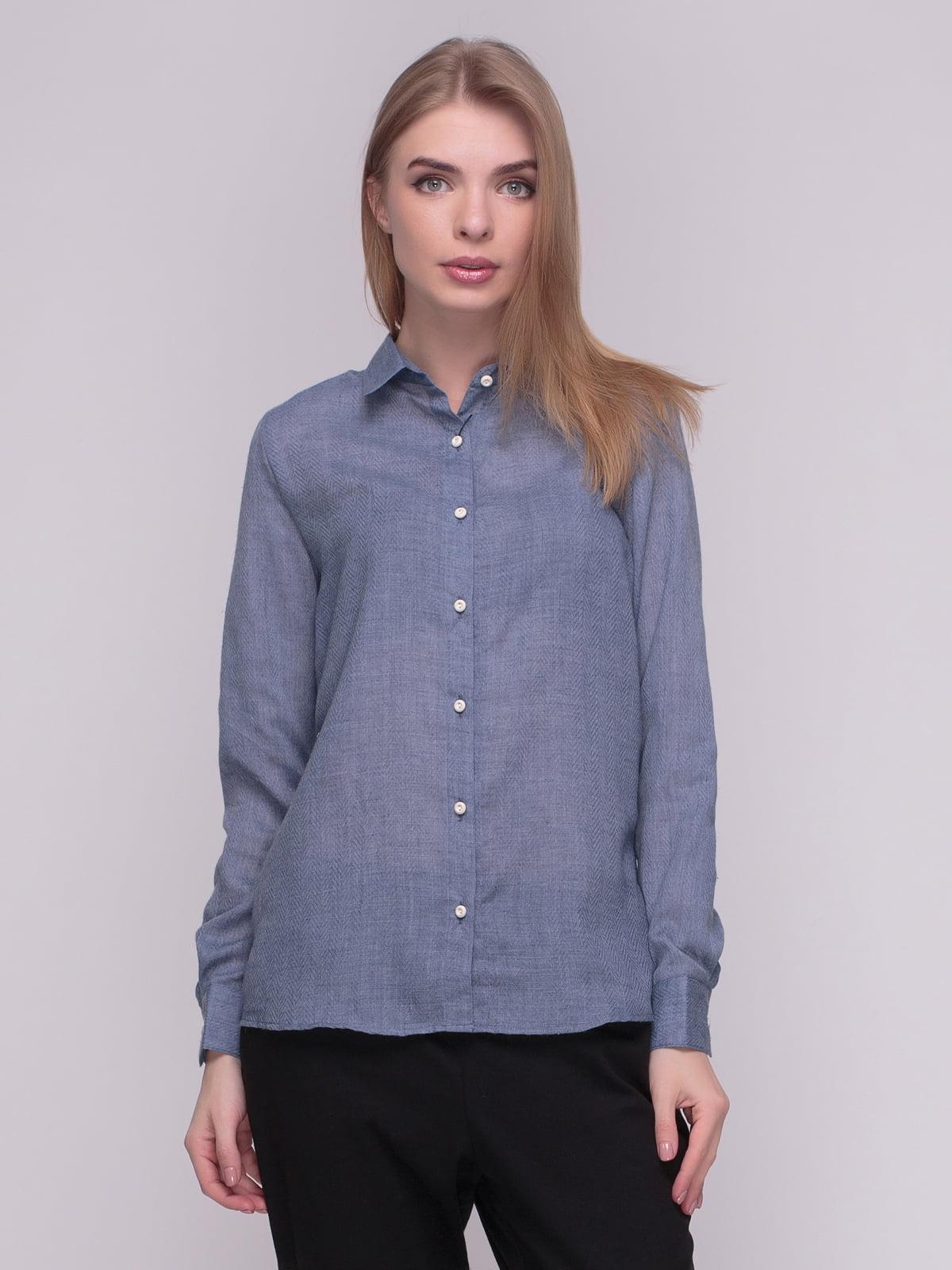 Рубашка синяя | 4210288