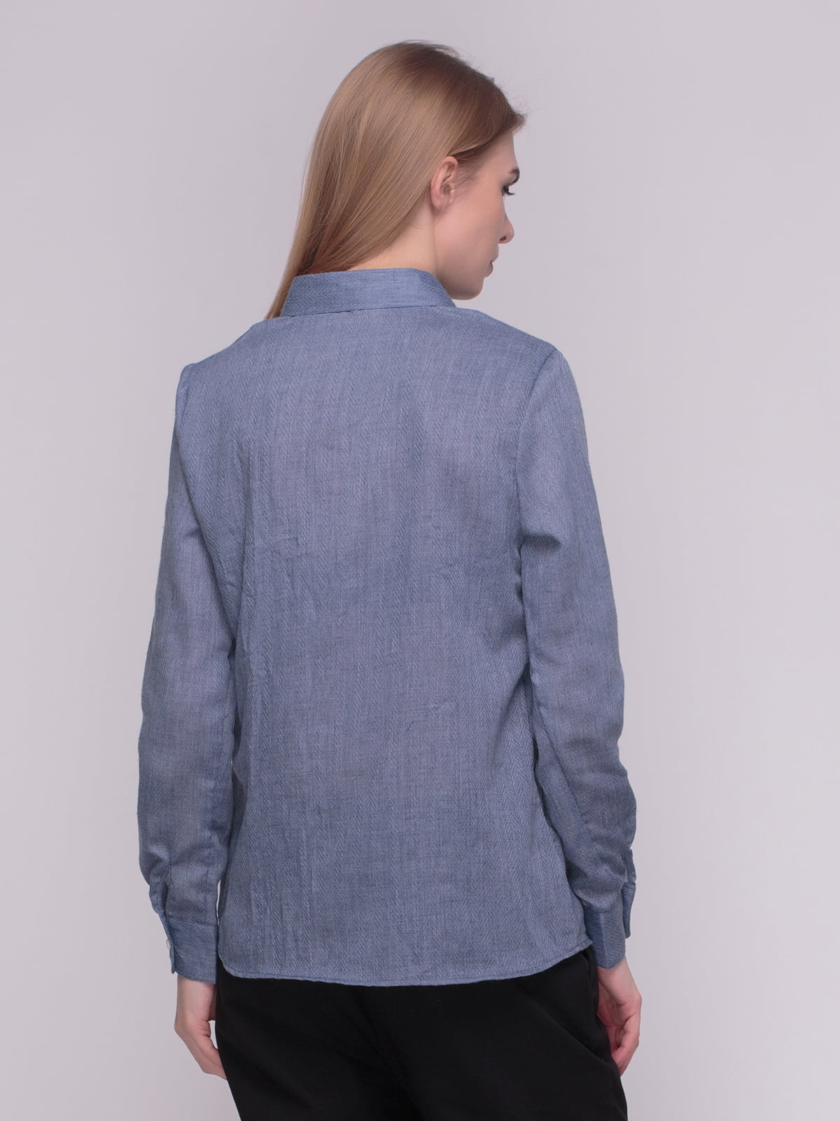 Рубашка синяя | 4210288 | фото 2