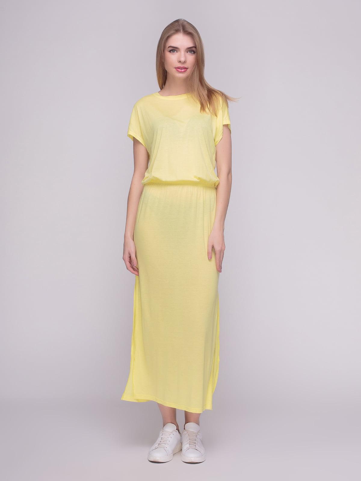 Платье желтое | 4210241