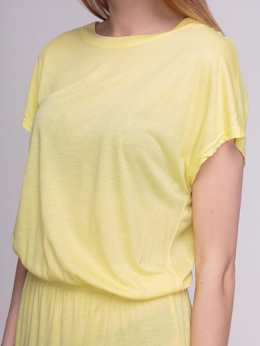 Платье желтое | 4210241 | фото 3