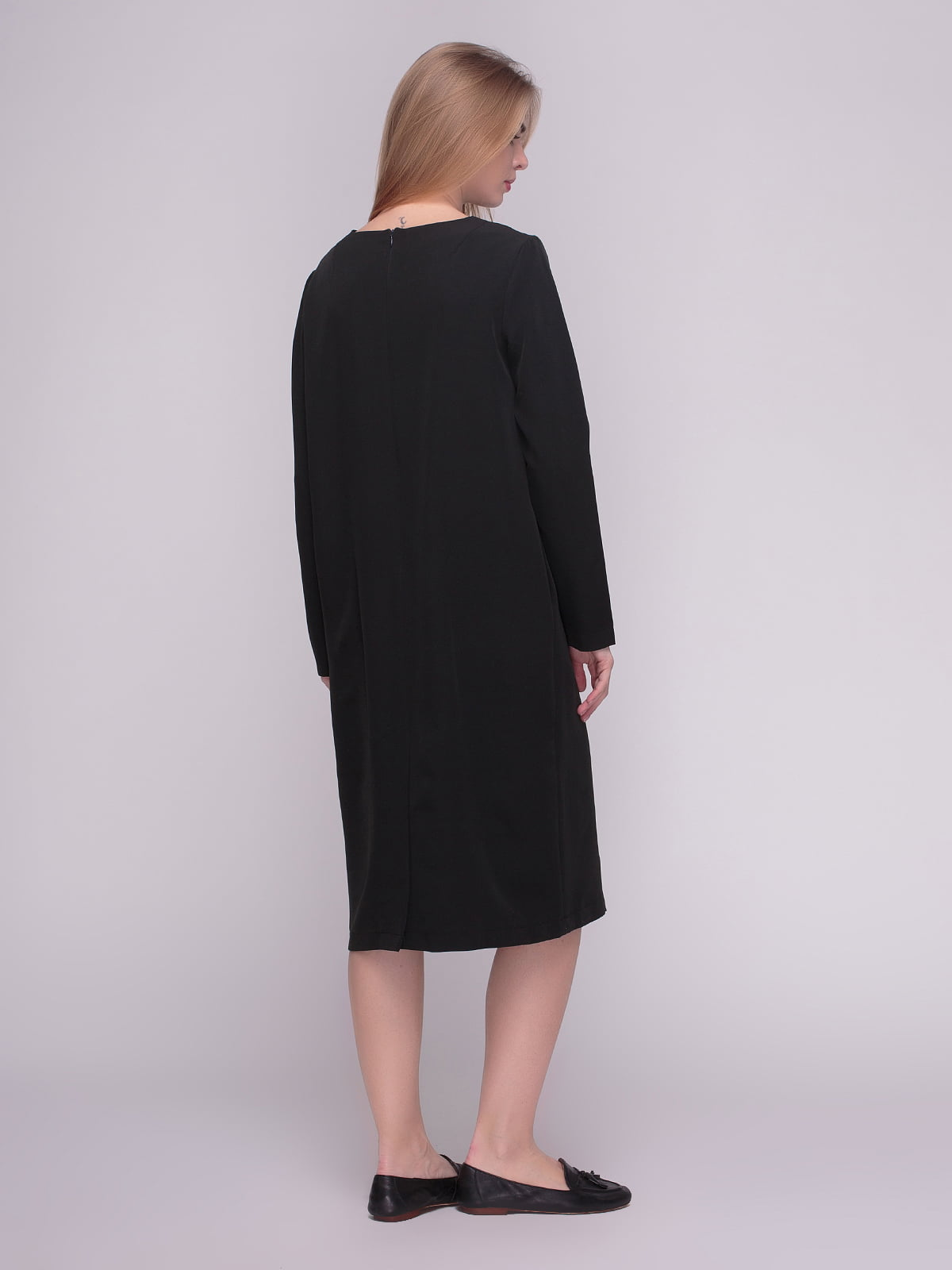 Платье черное | 4210287 | фото 2