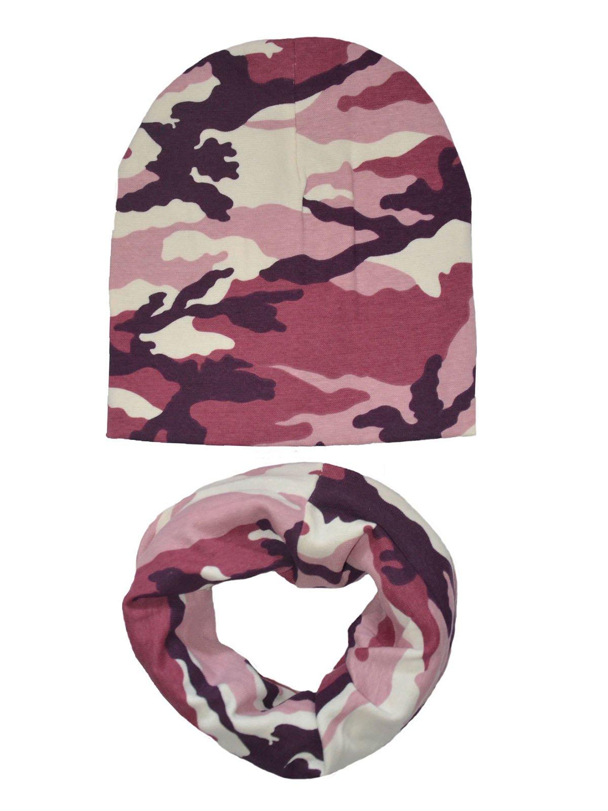 Комплект: шапка и шарф-снуд | 4217321