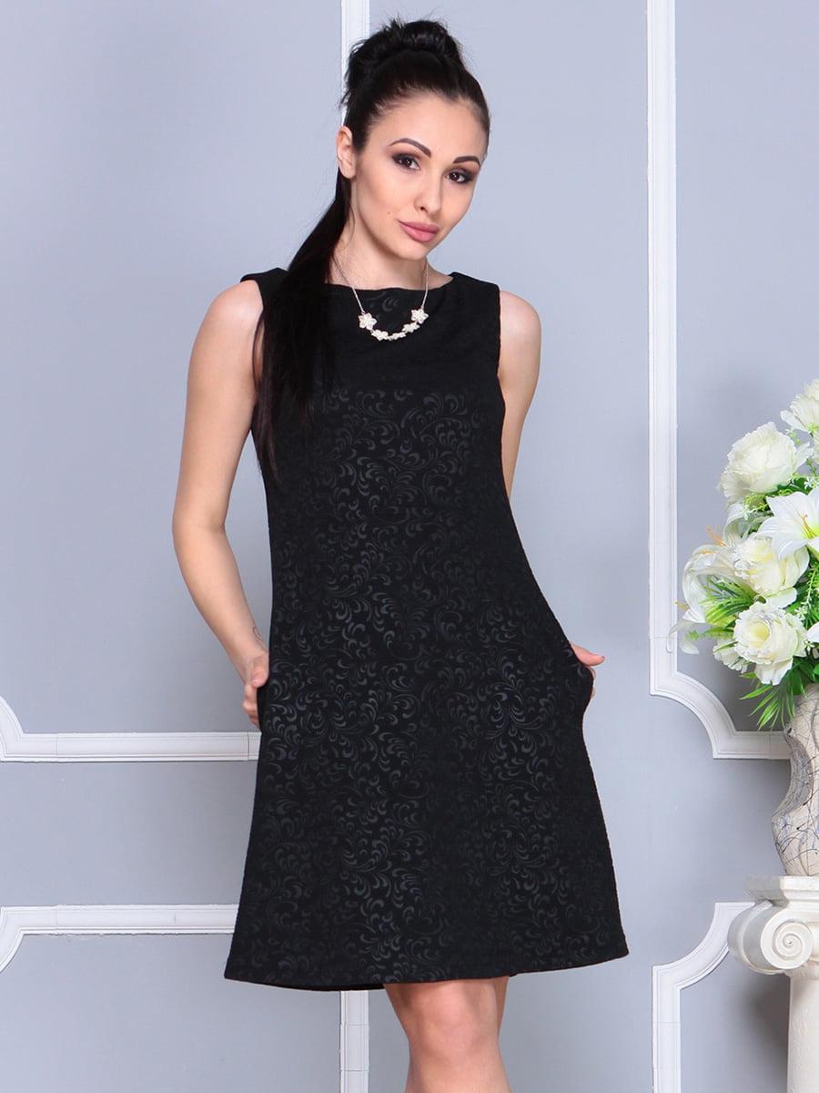 Платье черное | 4222467