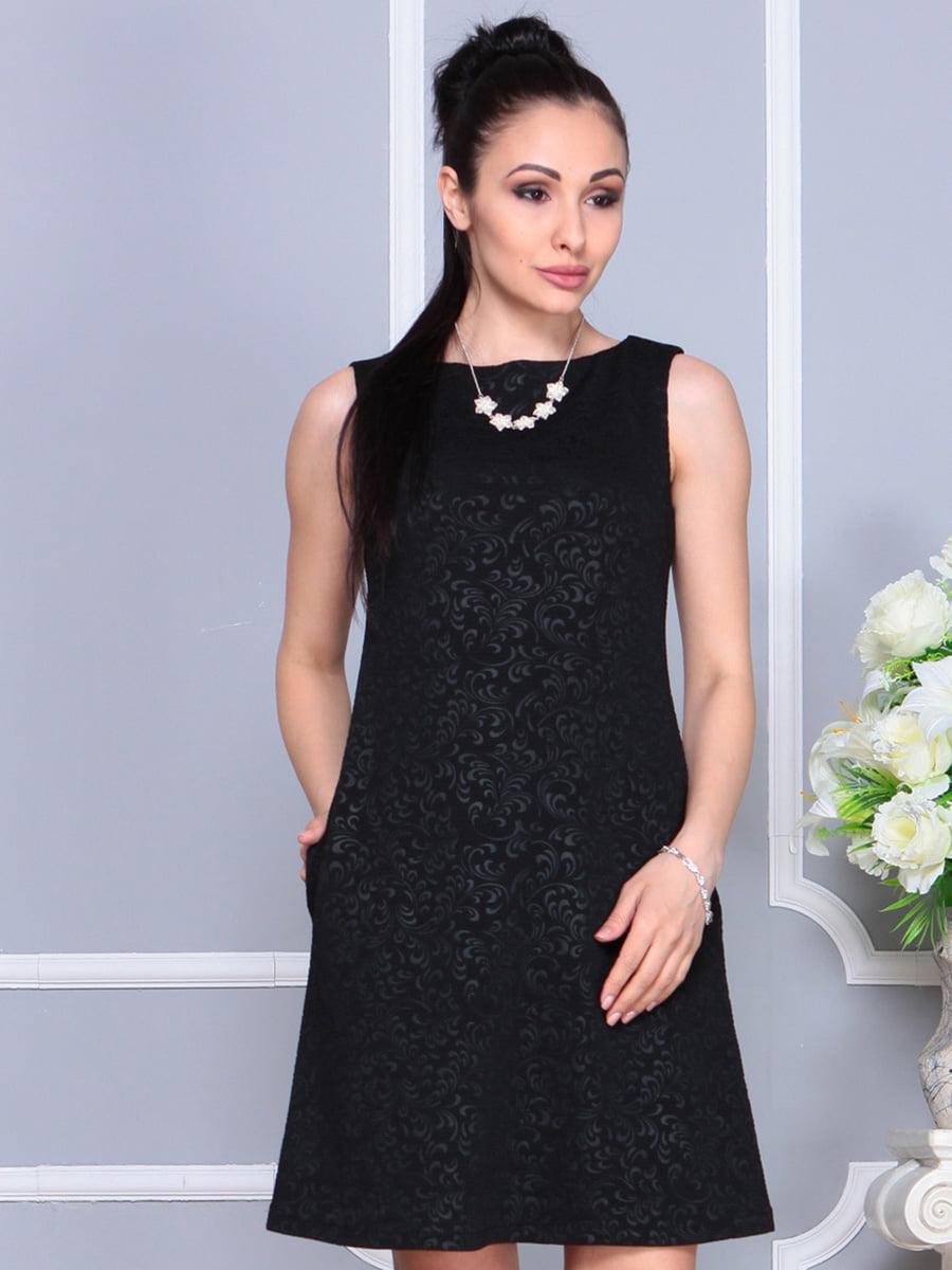 Платье черное | 4222467 | фото 5