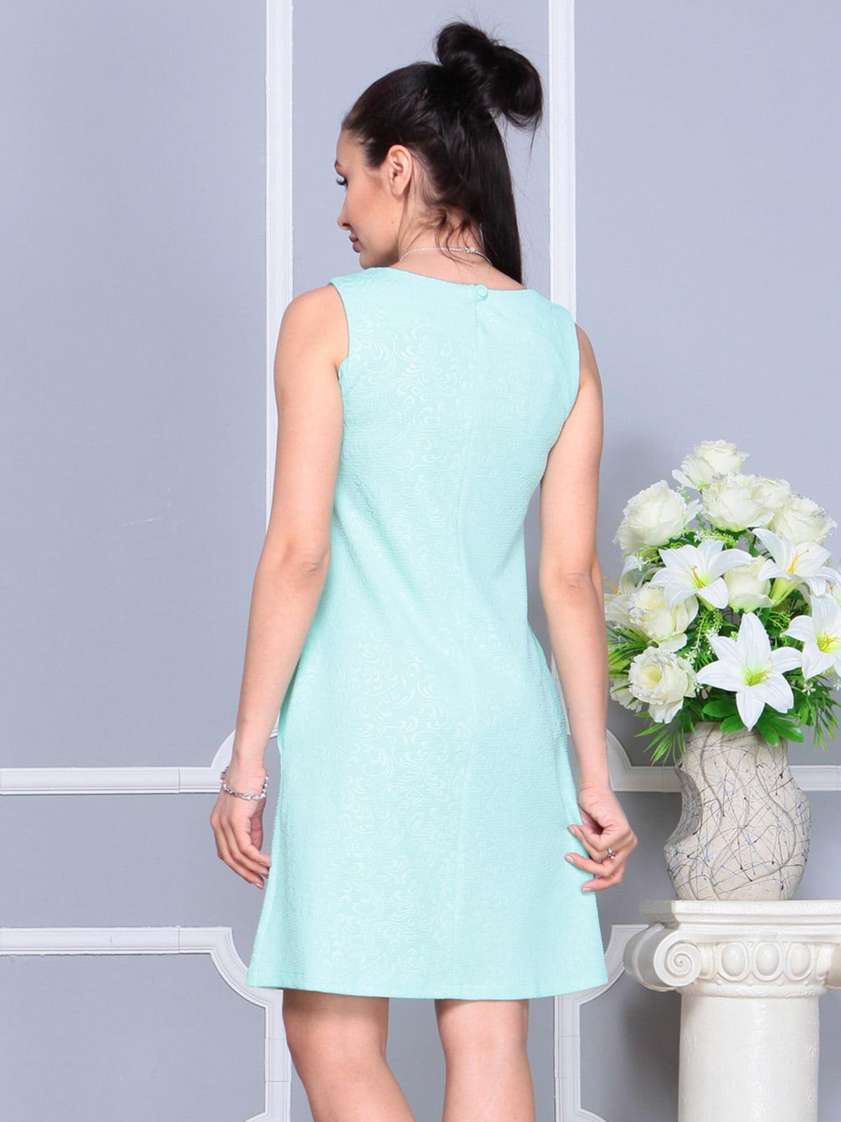 Платье светло-бирюзовое | 4222469 | фото 2