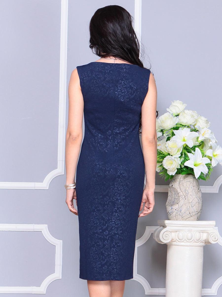 Платье темно-синее | 4222472 | фото 2