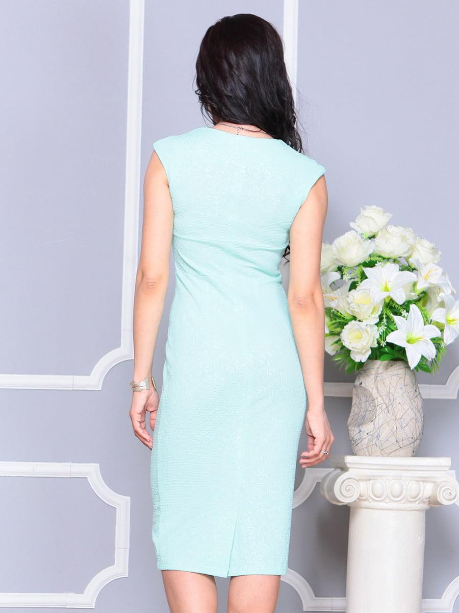 Платье светло-зеленое   4222475   фото 2