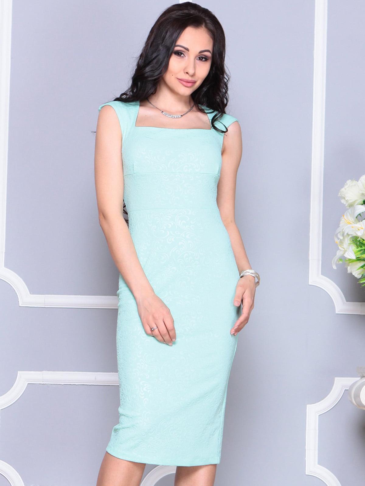 Платье светло-зеленое   4222475   фото 3