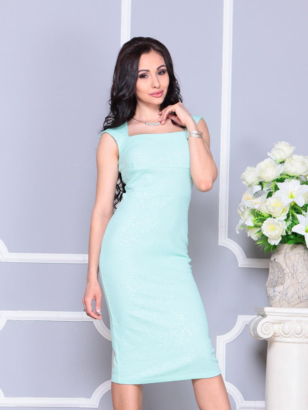 Платье светло-зеленое   4222475   фото 4