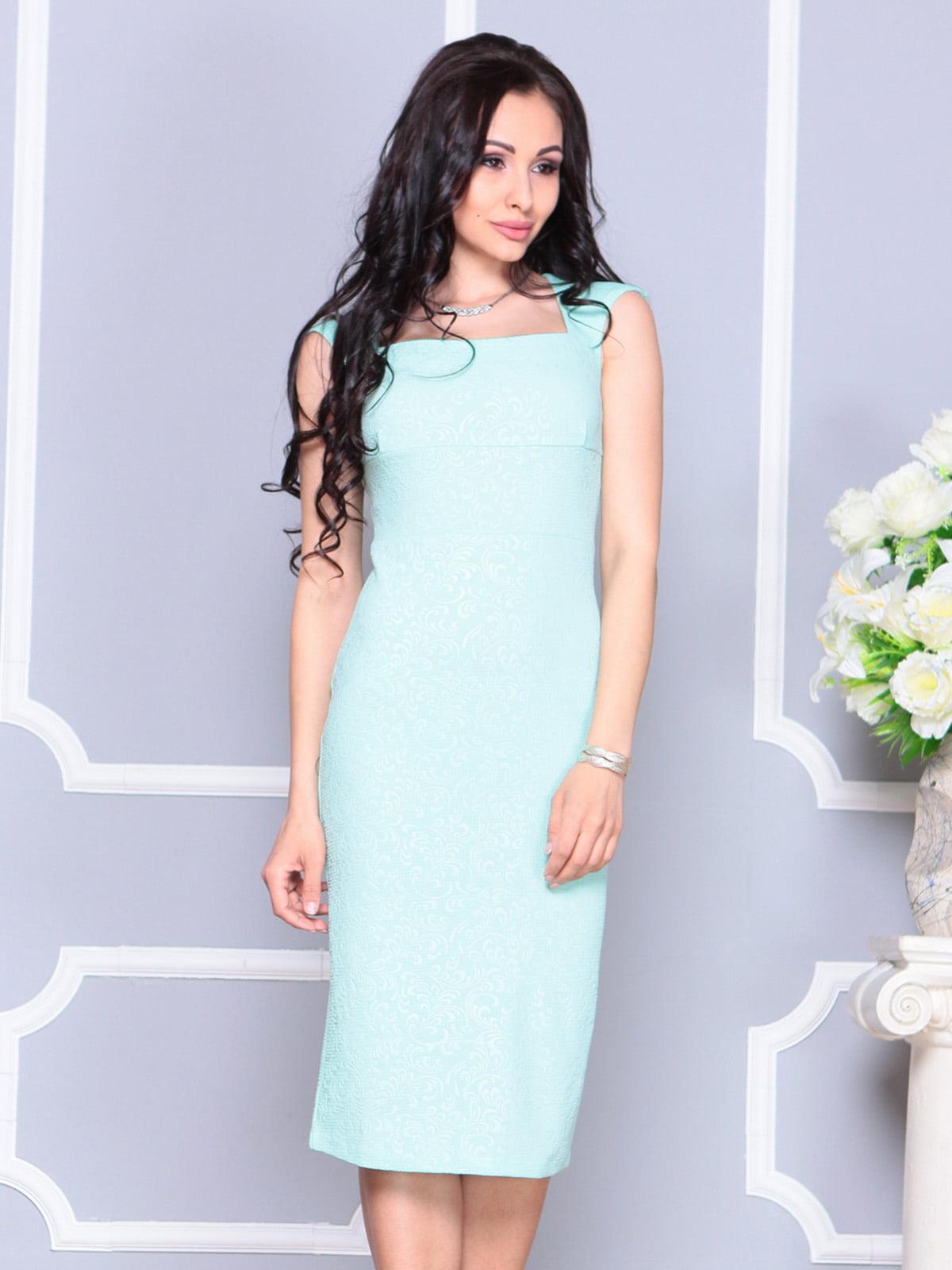 Платье светло-зеленое   4222475   фото 5