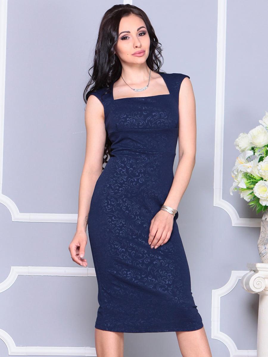 Сукня темно-синя | 4222476