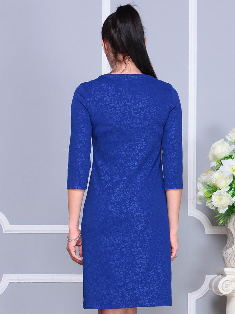 Платье цвета электрик | 4222478 | фото 2