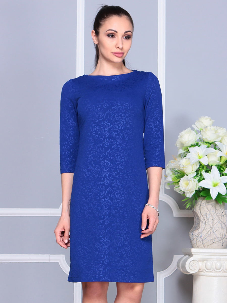 Платье цвета электрик | 4222478 | фото 3