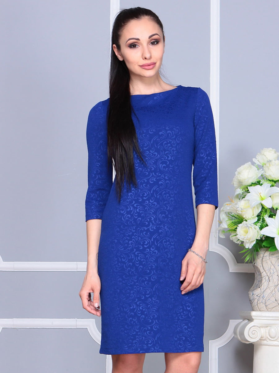 Платье цвета электрик | 4222478 | фото 4