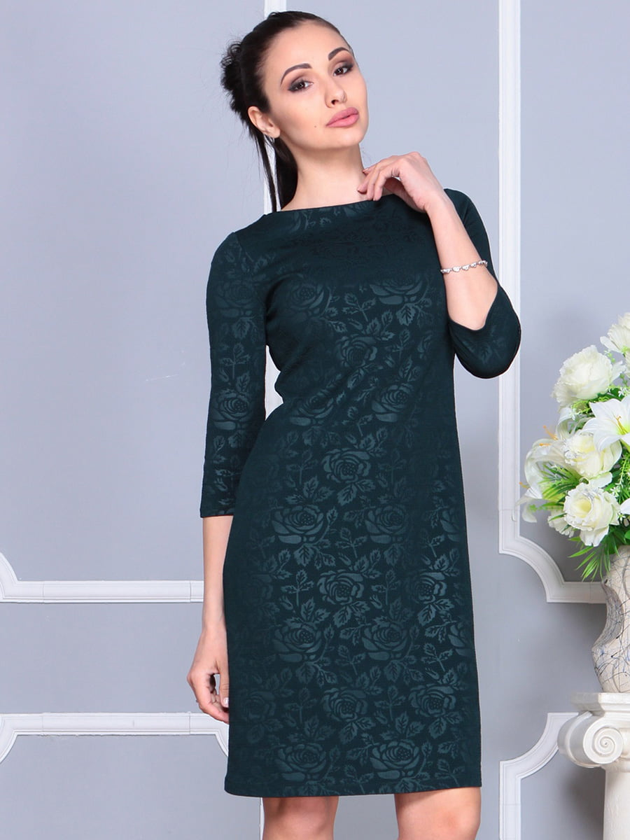 Сукня темно- смарагдова | 4222479