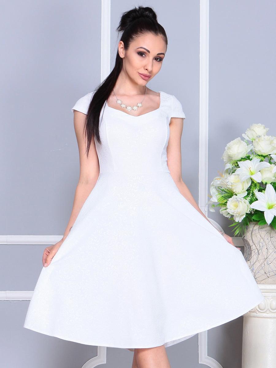 Платье белое | 4222485 | фото 3