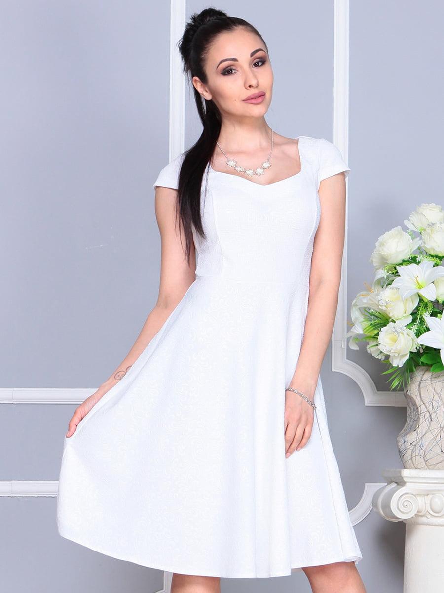 Платье белое | 4222485 | фото 4