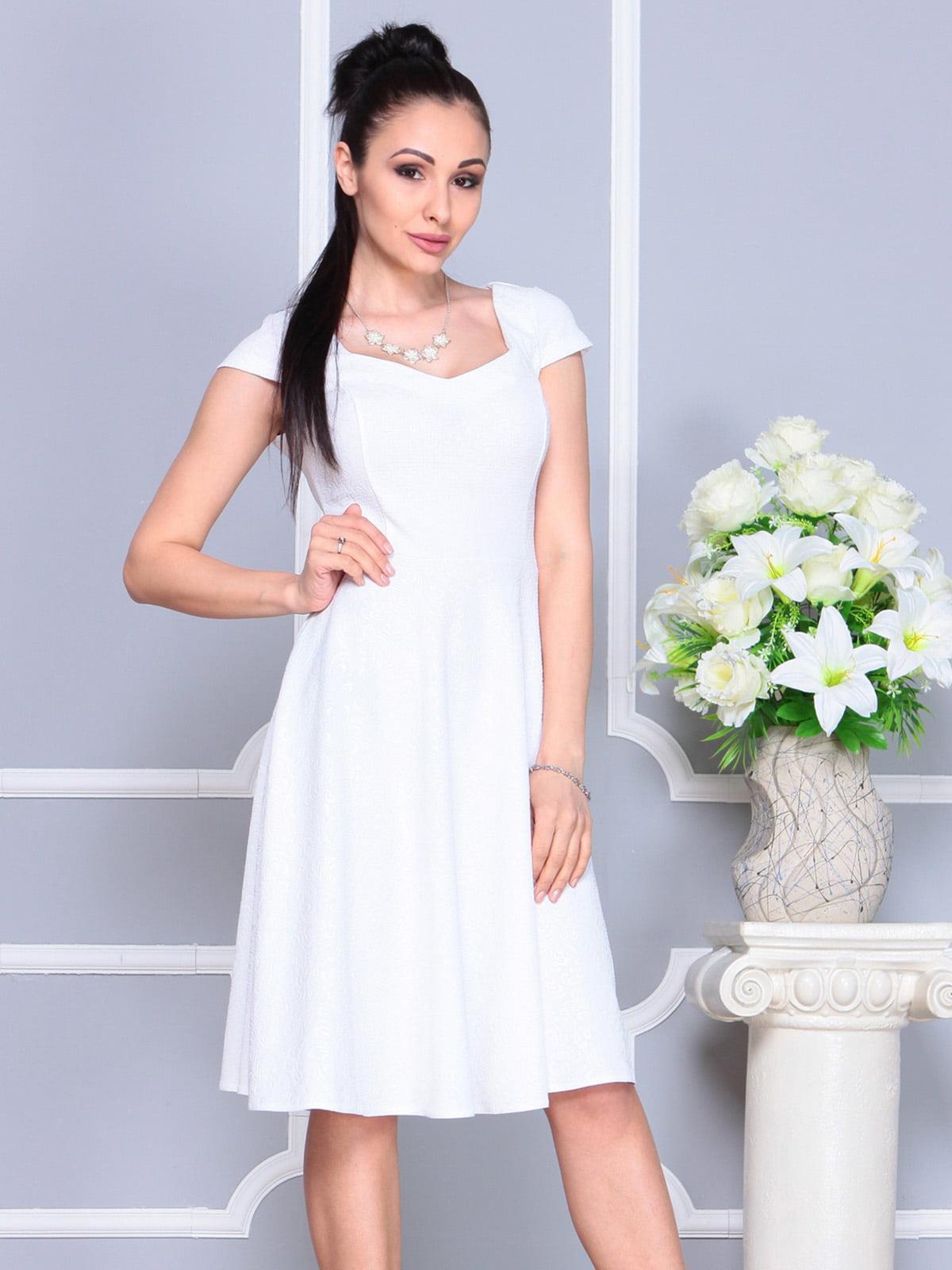 Платье белое | 4222485 | фото 5