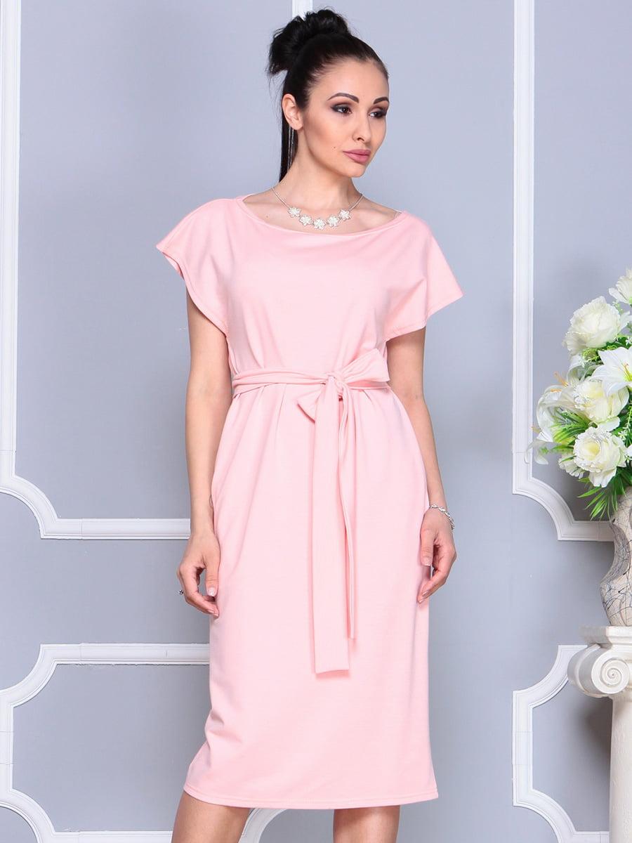 Платье персикового цвета | 4222491 | фото 3