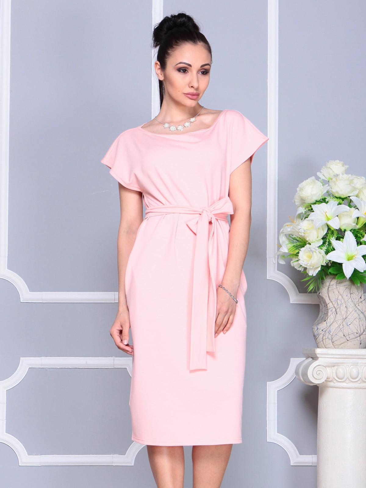 Платье персикового цвета | 4222491