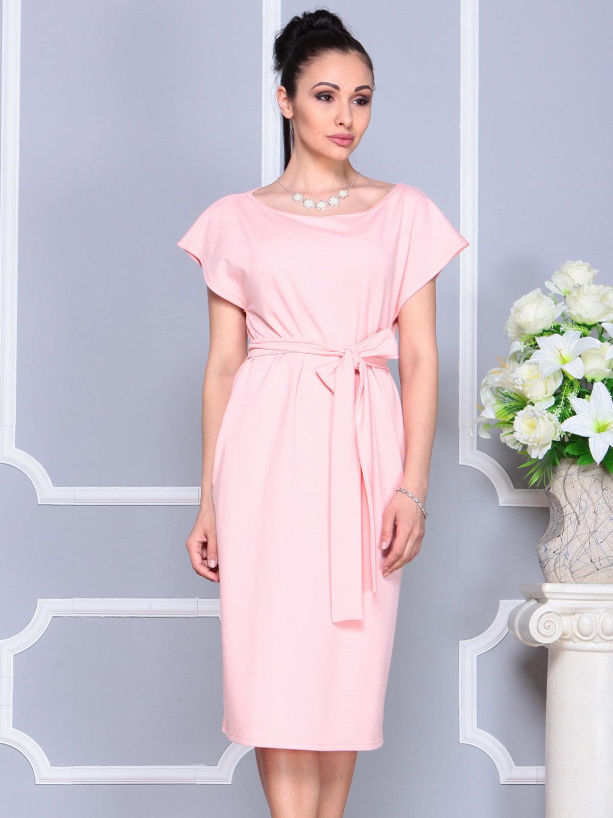 Платье персикового цвета | 4222491 | фото 5
