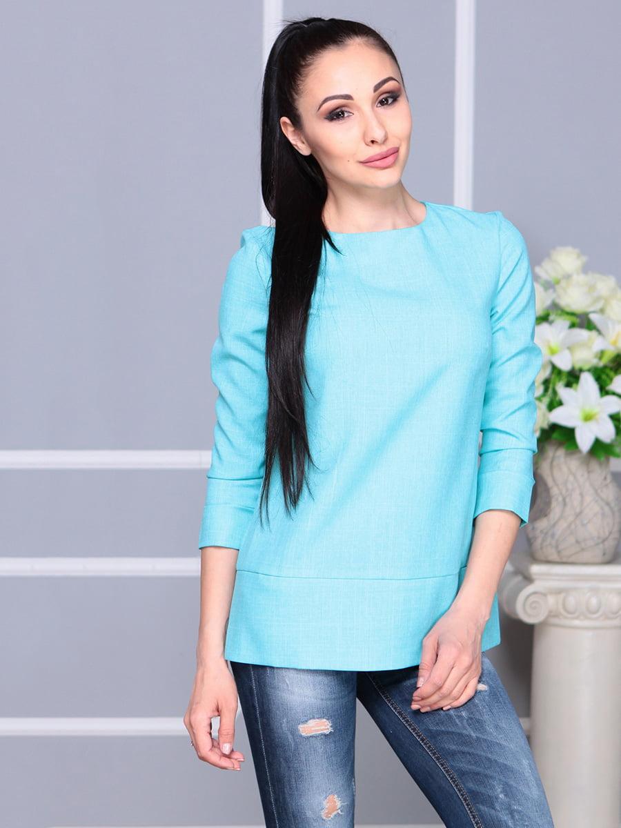 Блуза светло-бирюзовая | 4222506