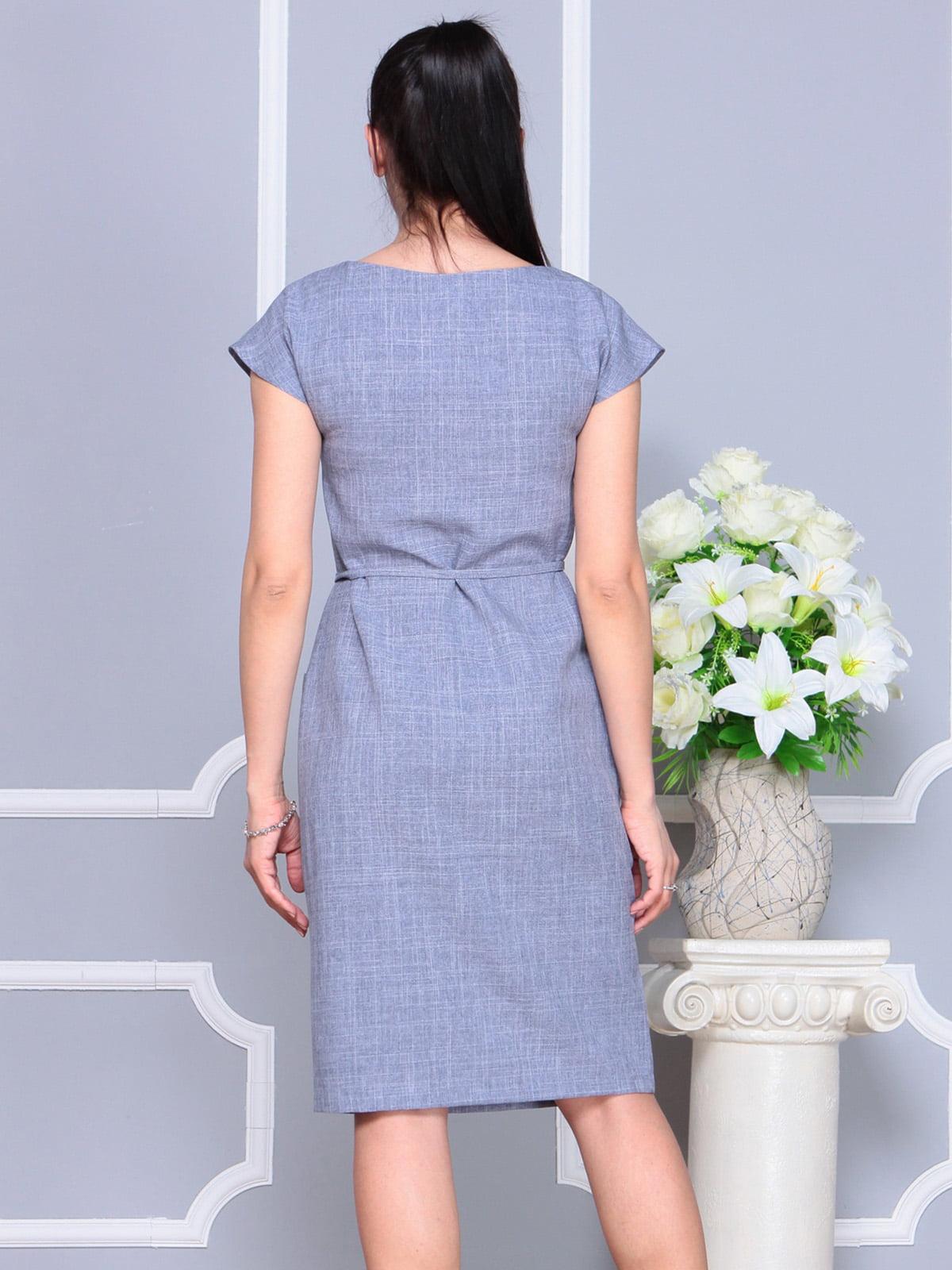 Платье цвета фиолетовой дымки   4222510   фото 2