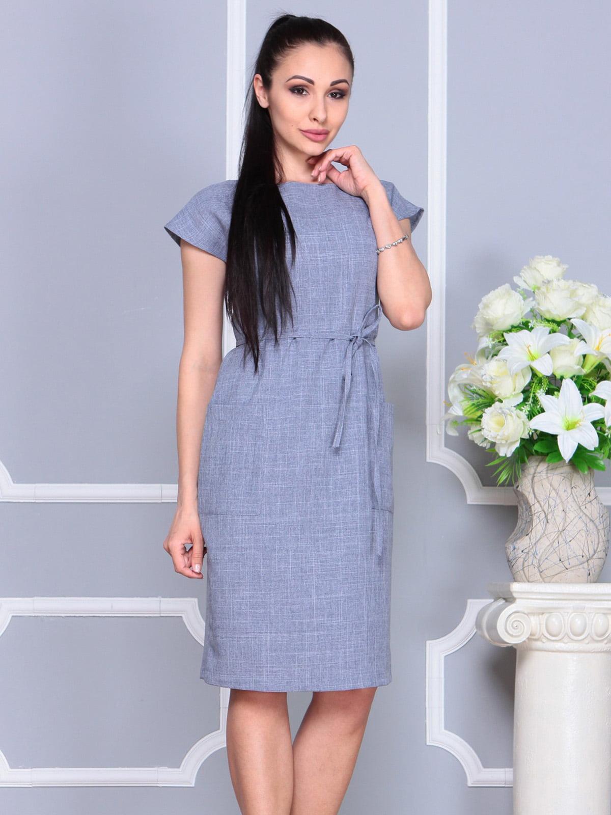 Платье цвета фиолетовой дымки   4222510   фото 3