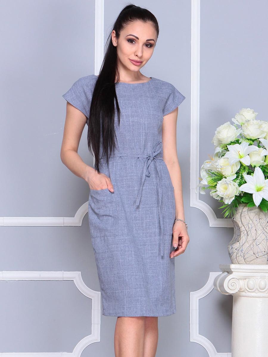 Платье цвета фиолетовой дымки   4222510   фото 4