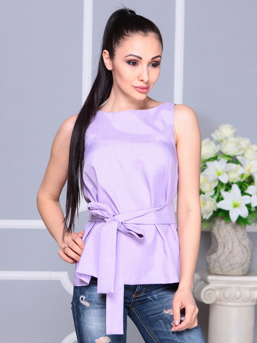 Блуза светло-фиалкового цвета | 4222511