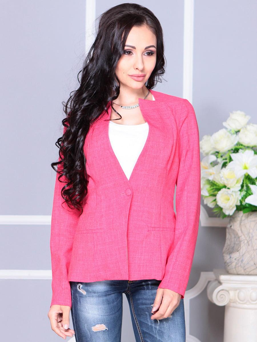 Жакет рожевий | 4222516