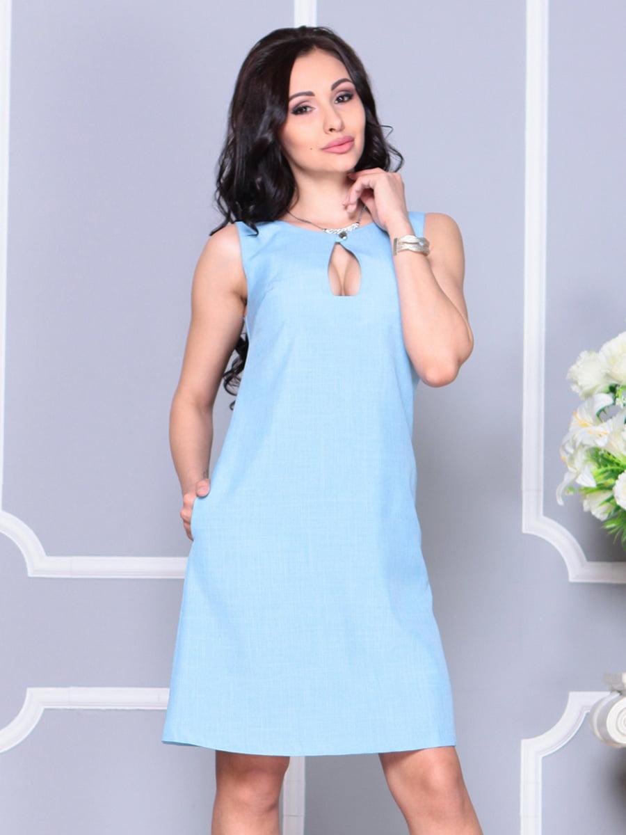 Платье ментоловое | 4222517