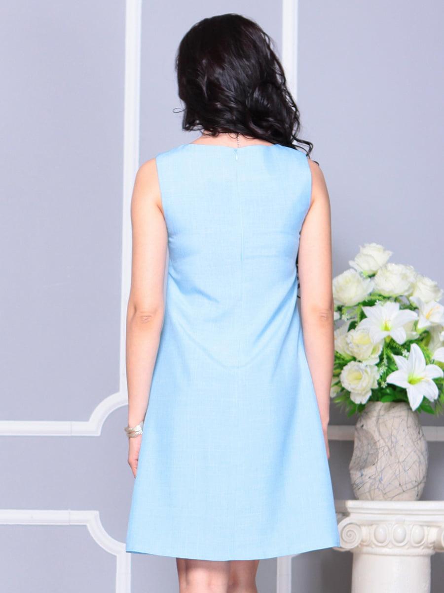 Платье ментоловое   4222517   фото 2