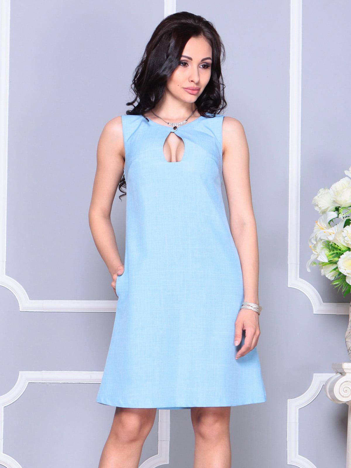 Платье ментоловое   4222517   фото 3