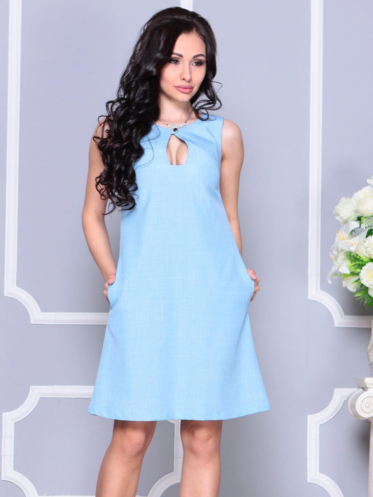 Платье ментоловое   4222517   фото 4