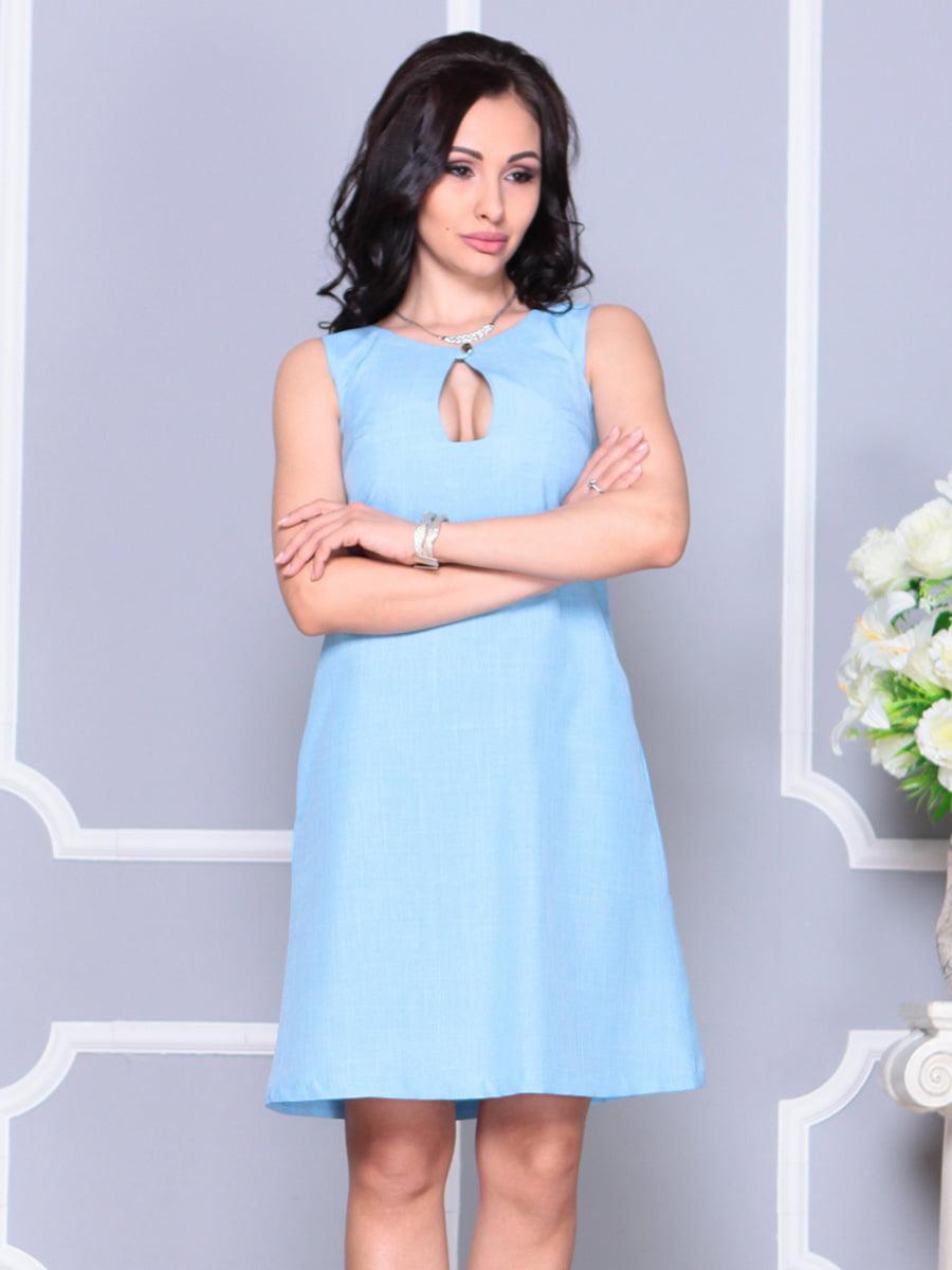 Платье ментоловое   4222517   фото 5