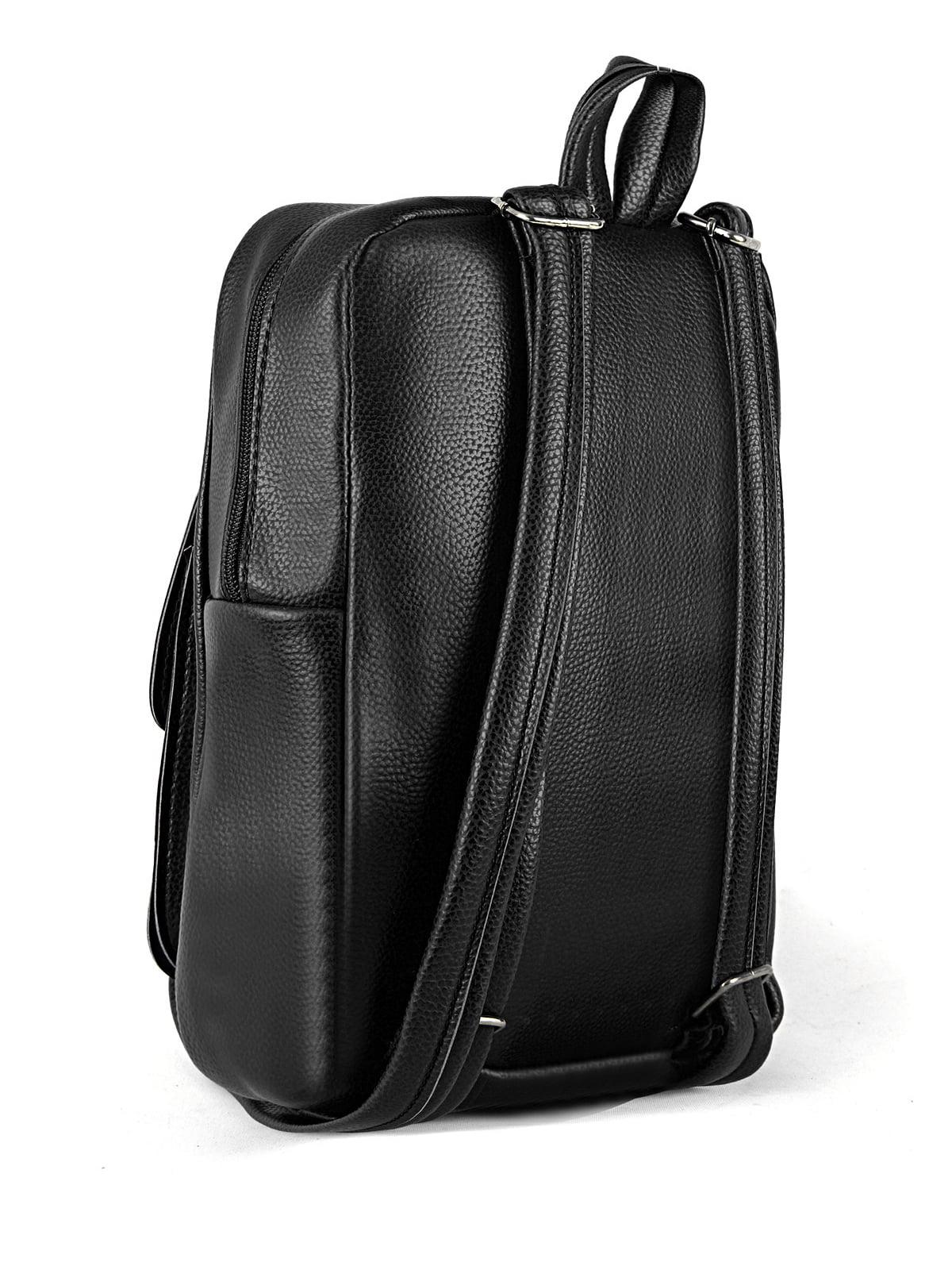 Сумка-рюкзак чорна | 4223128 | фото 2