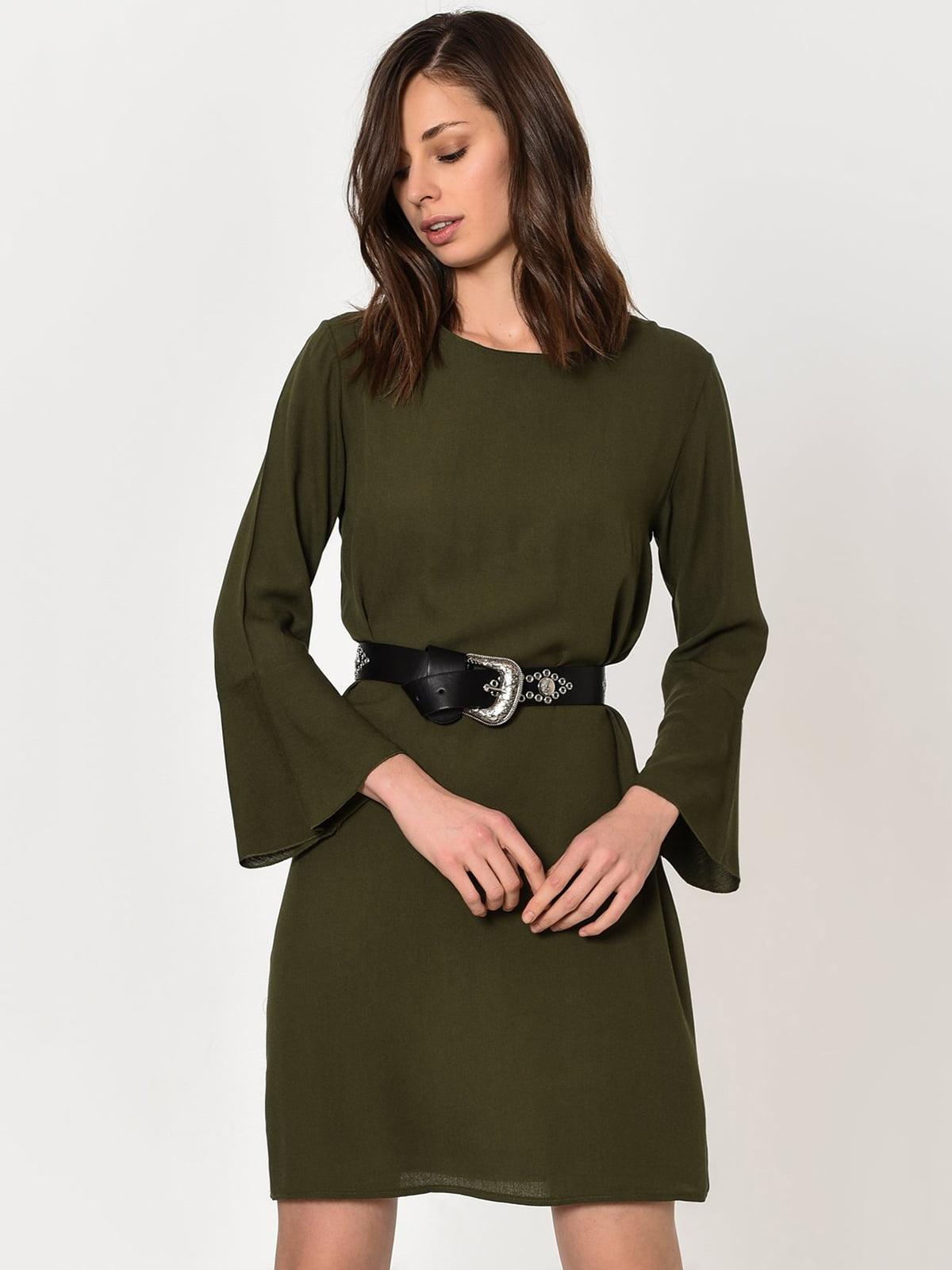 Сукня кольору хакі | 4224461