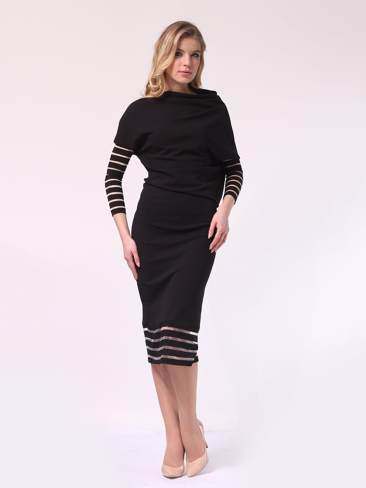 Платье черное | 4133366 | фото 7