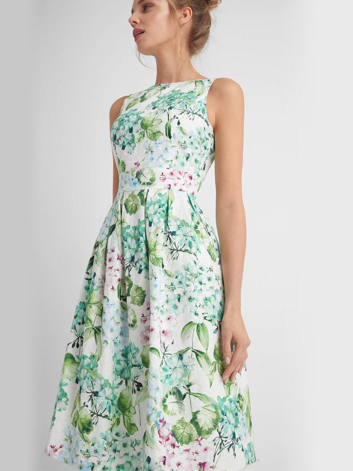 Сукня в квітковий принт | 4161466